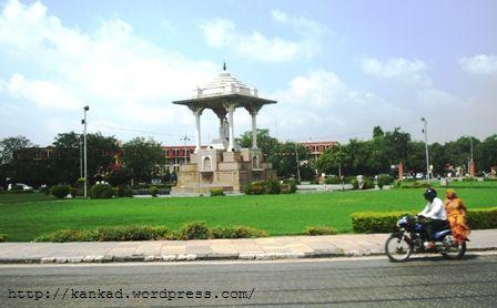जयपुर का स्टेच्यू सर्किल  (statue circle jaipur)