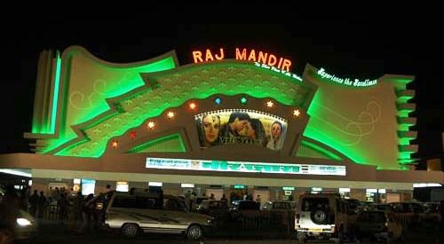 रात में राजमंदिर - एक मनोहारी दृश्य.