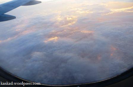 आसमान से कुछ यूं दिखते हैं बादल के खेत.